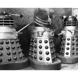 Photo Print: Dr. Who and the Daleks, 10x8in.