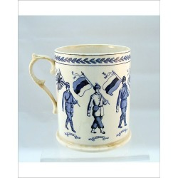 Photograph. Booths Silicon china mug - 8 Allies including India