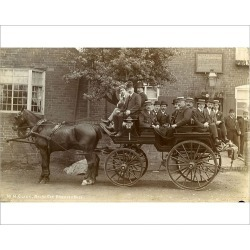 Photograph. Carriage and Horses
