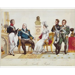 Photograph. French Royal Family in 1814. The Count of Artois