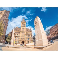 Photograph. Manchester, town hall in St Peter�s sq