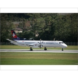 Photograph. SAAB 2000 of Darwin Airline to launch scheduled flights