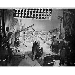Photograph. TV Filming, 1940S