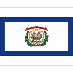 Photograph. West Virginia state flag