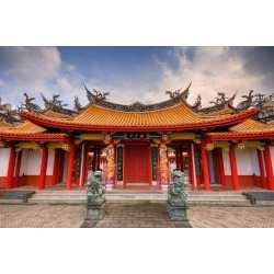 Photographic Print: Confucius Shrine Was Built by the Chinese Residents of Nagasaki in 1893 and is Still on Territory C by SeanPavonePhoto: 24x16in