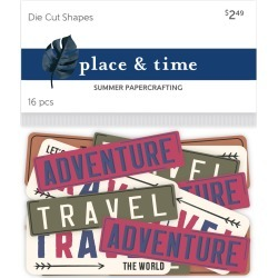 Place & Time Die Cut Shapes Signs Open Road