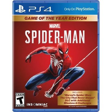 PlayStation 4 711719529958 Marvel's Spider-Man Game Of The Year Edition