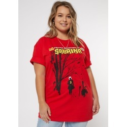 Plus Size Sabrina Chilling Adventures Graphic Tee