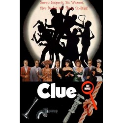 Poster: Clue, 40x27in.