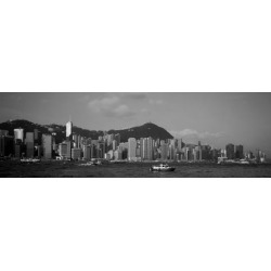 Poster: Poster: Cityscape, China Sea Poster, 42x14in.