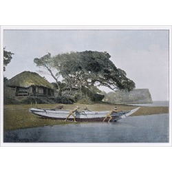 Poster Print. Japanese Fishing Boat