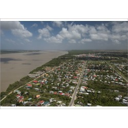 Poster Print. South of Georgetown GUYANA South America