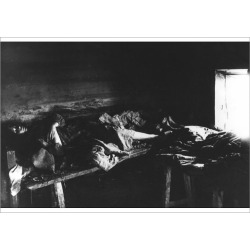 Poster Print. Typhus Sufferers in Kniagin, Russia