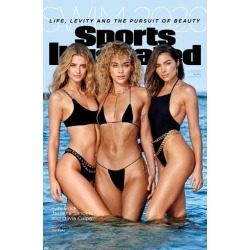 Poster: Sports Illustrated: Swimsuit Edition - Kate Bock Jasmine Sanders Olivia Culpo Cover 20: 34x22in