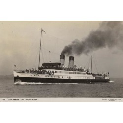 Poster: Ts Duchess of Montrose, 24x16in.