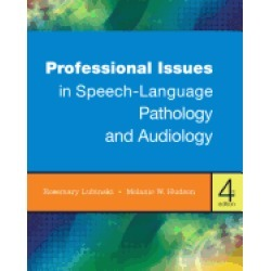 professional issues in speech language pathology and audiology