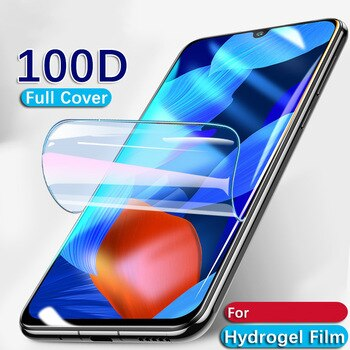 Protective Hydrogel Film for ZTE BLADE 20 SMART A5 A7 10 Prime A7S 2020 For ZTE A1 Cover Cases Not Glass