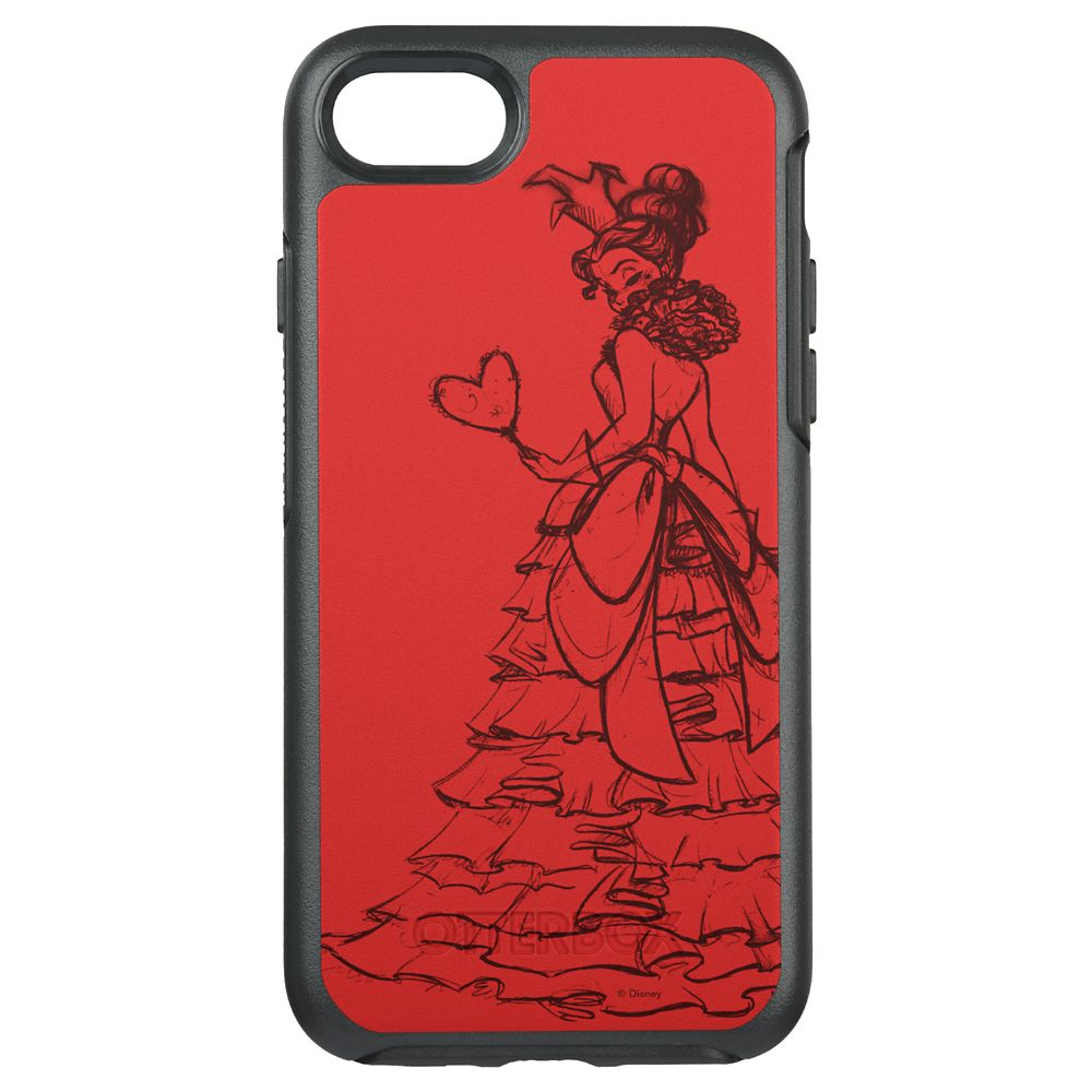 Queen of Hearts OtterBox Symmetry iPhone 8/7 Case Art of Disney Villains Designer Collection