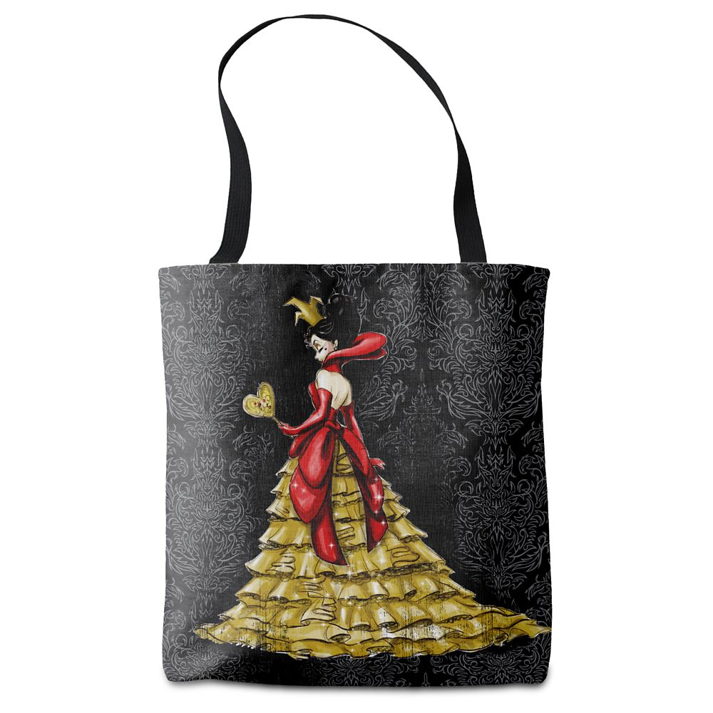 Queen of Hearts Tote Bag Art of Disney Villains Designer Collection