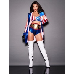Queen Of The Ring Costume Final Clearance