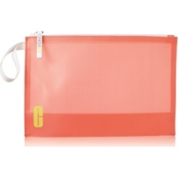 Receive a Free Clinique Fit cosmetics bag with any Clinique Fit purchase!