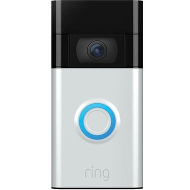 Ring 8VR1SZ-SEN0 Video Doorbell (2020 Release) - Silver