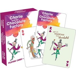 Roald Dahl Charlie and the Chocolate Factory Playing Cards