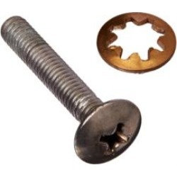 ROHL C7541 Country Kitchen Screw Set to Mount Lever and Cross Handle