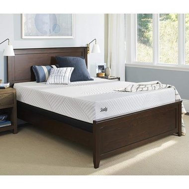 Sealy 52073151 Conform Treat Queen Cushion Firm Mattress With Ease 3.0 Queen Adjustable Base
