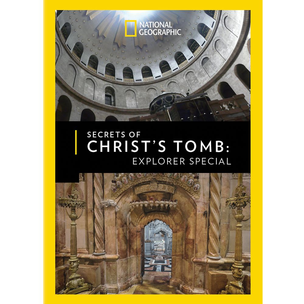 Secrets of Christ's Tomb: Explorer Special DVD National Geographic Official shopDisney