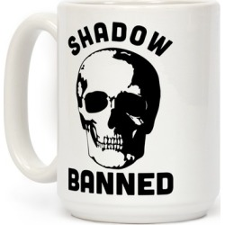 Shadow Banned Mug from LookHUMAN