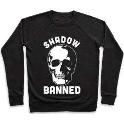 Shadow Banned Pullover from LookHUMAN
