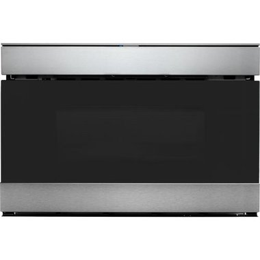 Sharp SMD2489ES 24 IoT Microwave Drawer Oven With Kitchen App And Easy Wave Open - Stainless Steel