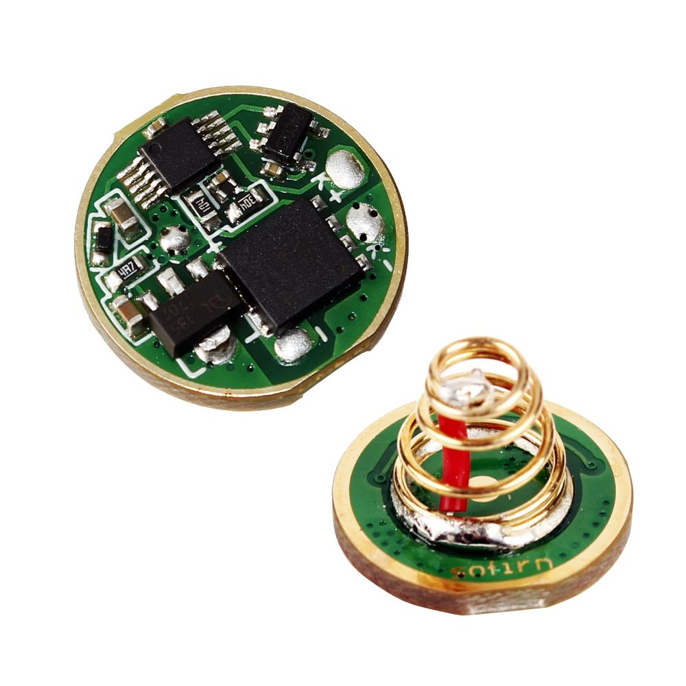 Sofirn C8F 4 Groups Circuit Board Driver Anti-reverse LED Driver Chip Mode Memory Function With Wire