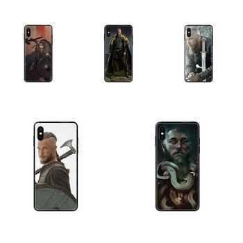 Soft TPU Custom Design Vikings Ragnar Vikings Season Lothbrok For Xiaomi Redmi Note 4 5 5A 6 7 8 8T 9 9S Pro Max