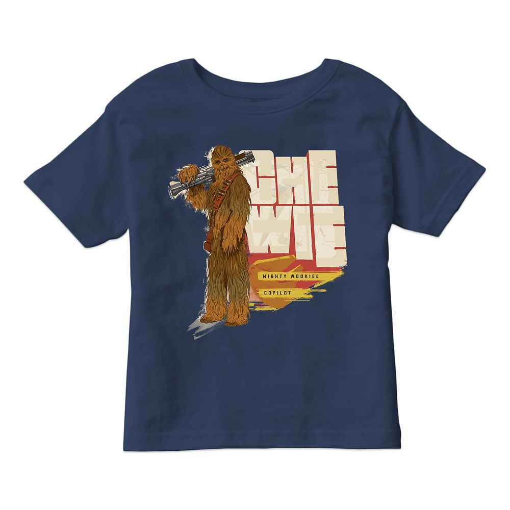 Solo: A Star Wars Story Chewbacca T-Shirt for Boys Customizable Official shopDisney