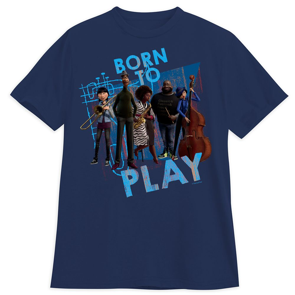 Soul Band T-Shirt for Adults Official shopDisney