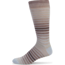 Space Dyed Stripe Crew Socks