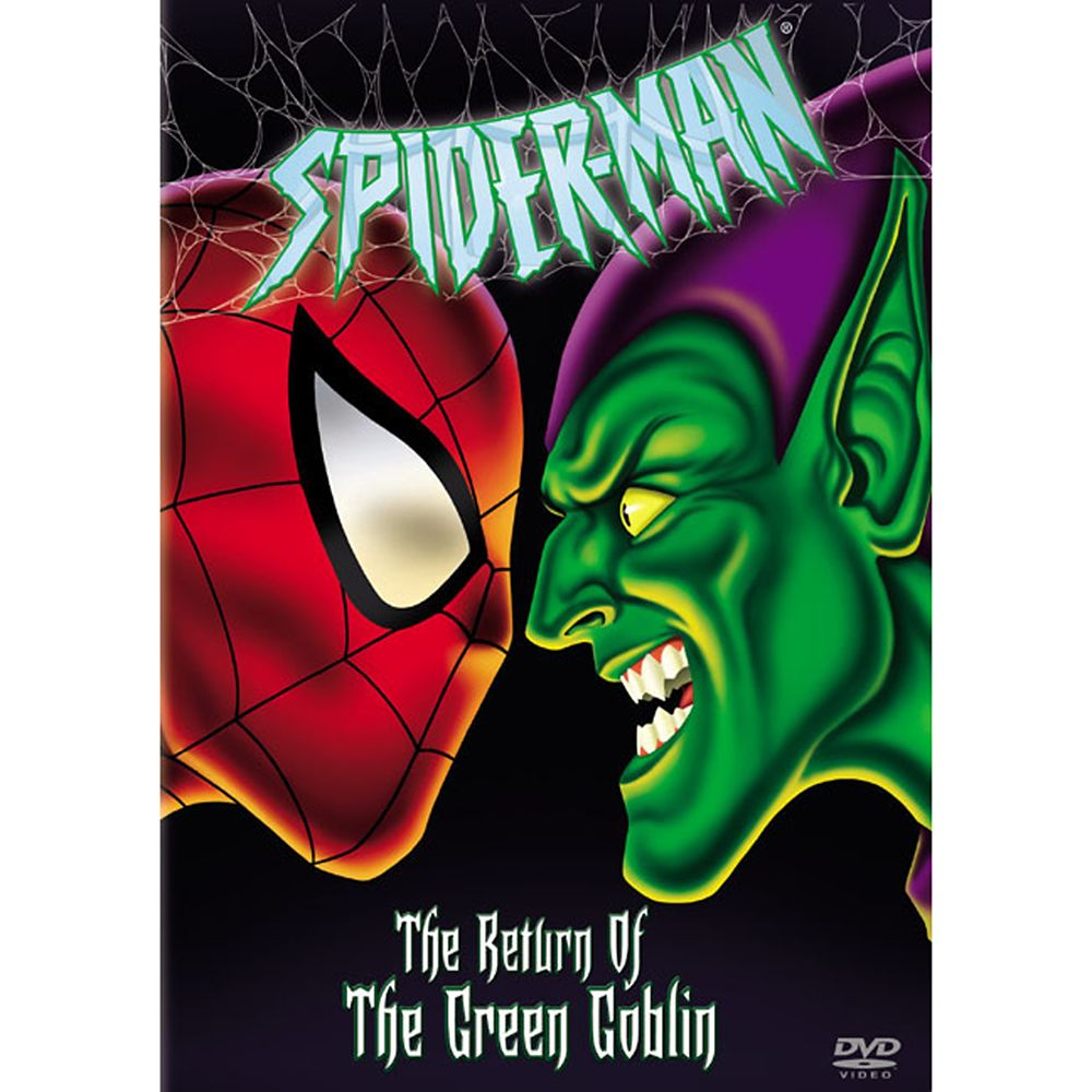 Spider-Man: The Return of the Green Goblin DVD Official shopDisney