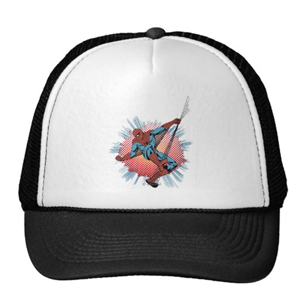Spider-Man Trucker Hat for Adults Customizable Official shopDisney