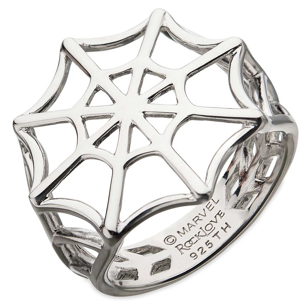 Spider-Man Web Ring by RockLove Official shopDisney