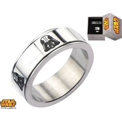 Stainless Steel Star Wars Darth Vader Band