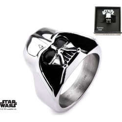 Stainless Steel Star Wars Darth Vader Ring