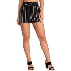 Stand Out In Stripes Shorts