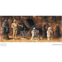 Star Wars Can You Speak Bocce by Akirant Paper Giclee Art