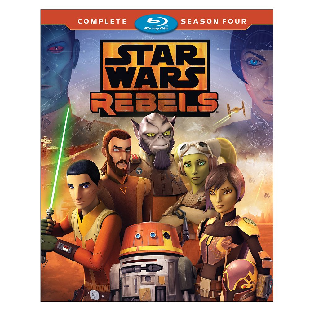 Star Wars Rebels Complete Season Four Blu-ray Official shopDisney