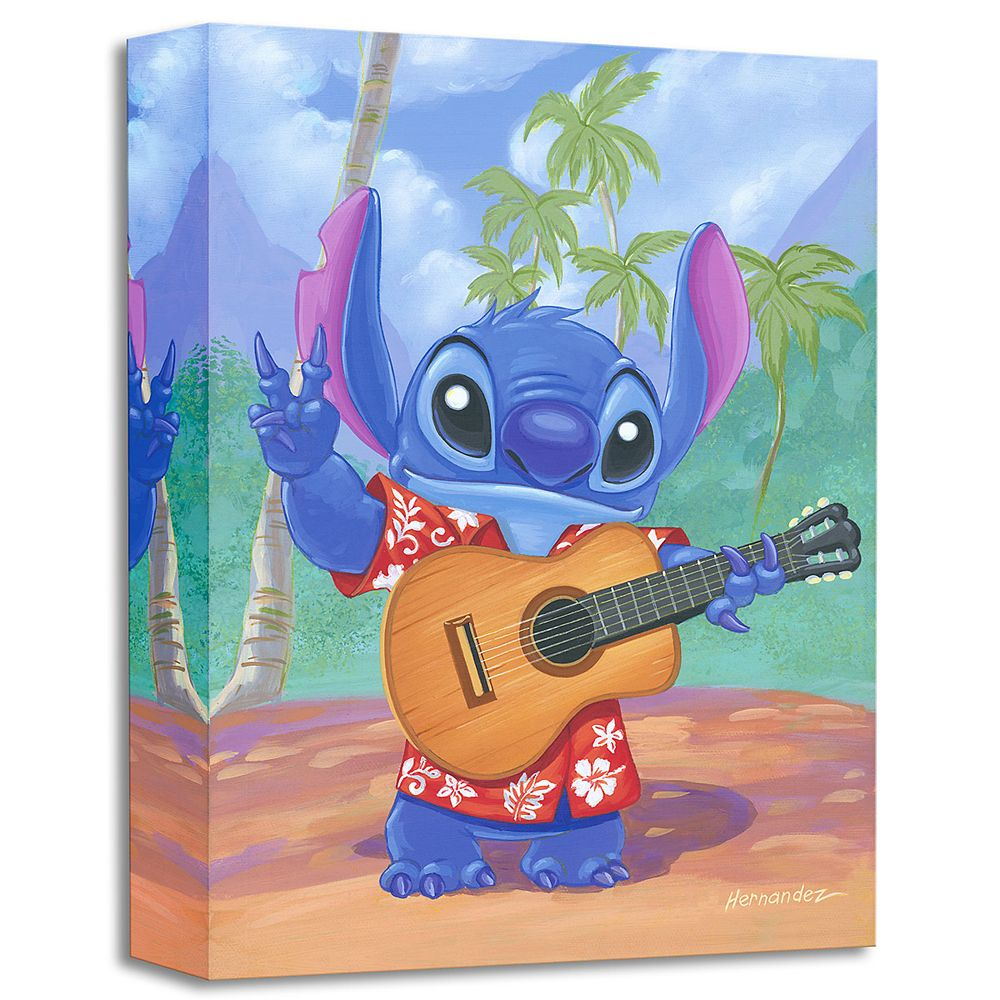 Stitch ''Warm Aloha'' Gicle by Manuel Hernandez Official shopDisney
