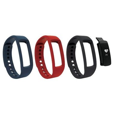 SuperSonic SC-67FB Bluetooth Slim Heart Rate Fitness Band With GPS & Incoming Call Alert