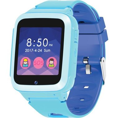 SuperSonic SC-760KSWBLU Kids Smart Watch With Built-In Games - Blue