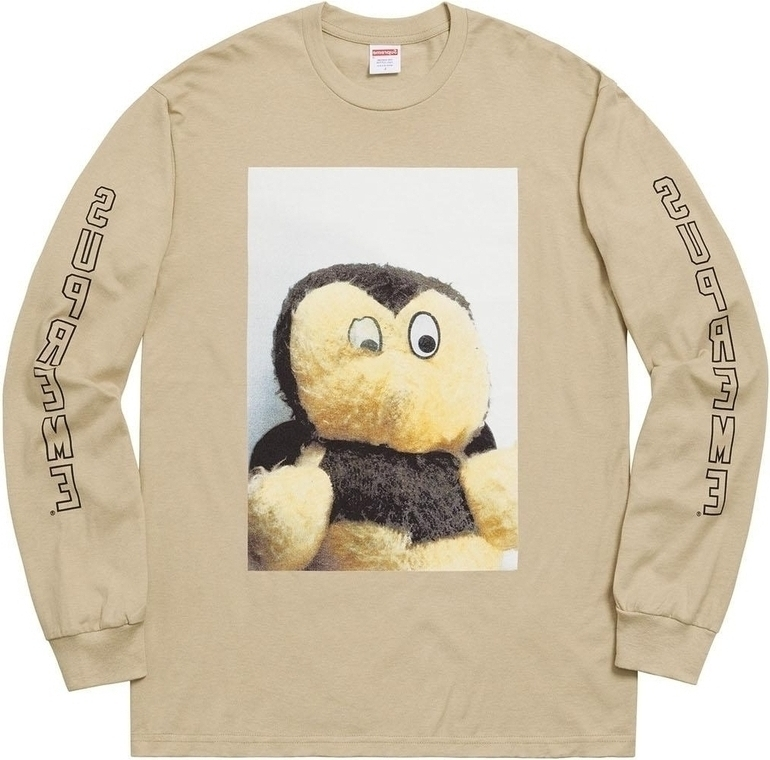 SUPREME Supreme FW18 Mike Kelley AhhYouth LS Tee Clay T T-shirts SUP-FW18-308 (Size: US L)